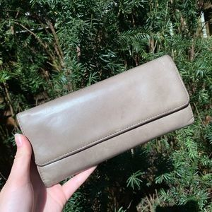 HOBO magnetic leather wallet